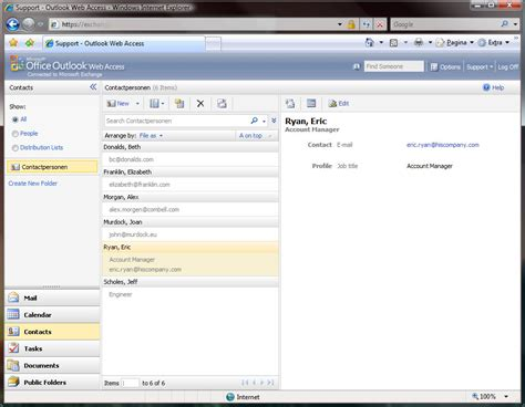 email owa outlook web access e mail