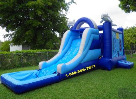 water slide bounce house for rent bounce house rental miami fl