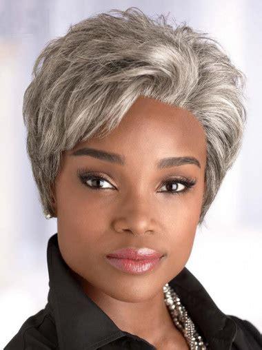 bun wigs for black women short straight synthetic wigs for black women bun style