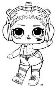 lol surprise doll coloring pages beats lol doll coloring