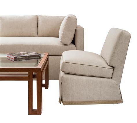 Baldwin Slipper Chair by Tuxedo Sofa Billy Baldwin Studio