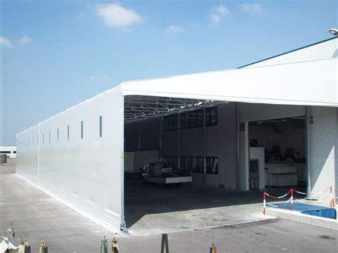 capannoni retrattili usati capannoni industriali fissi e retrattili metalcam service