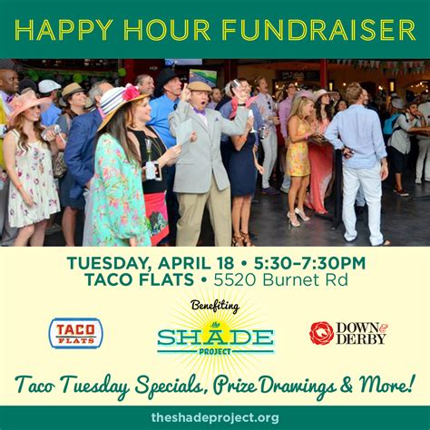 Happy Hour Deny Away April by Taco Tuesday Happy Hour The Shade Project