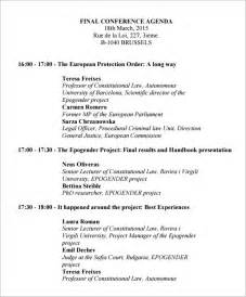 program paper templates conference program template free formats excel word