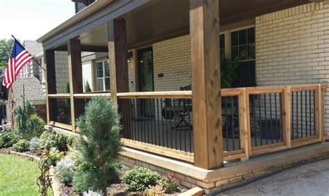 cedar exterior porch columns stain color randolph indoor