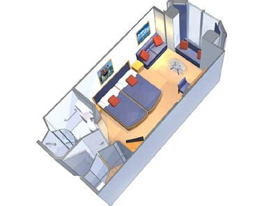 Independence Of The Seas Cabin Layout by Promenade Stateroom