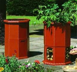 patio planters containers patio potato barrel patio