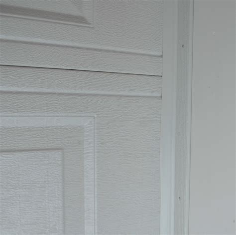 installing garage door trim how to install garage door weather stripping garage door