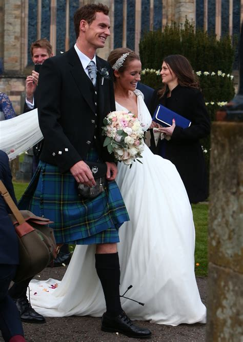 andy murray wedding andy murray and kim sears get married in romantic dunblane