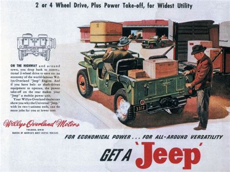vintage jeep ad 18 best images about jeep ads on pinterest jeep willys