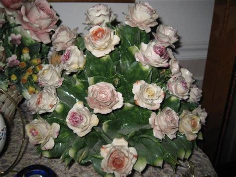 capodimonte floral centerpieces porcelaines pinterest