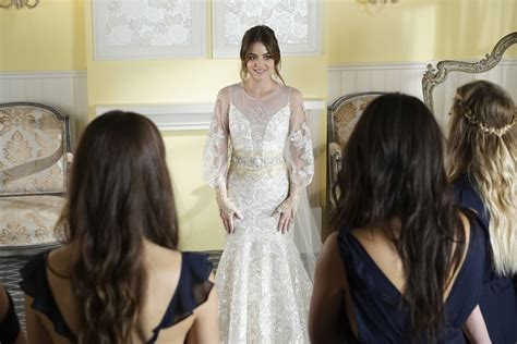 Pretty Wedding Pictures by Pretty Liars Finale See S Wedding Dress