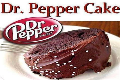 Dr. Pepper Cake ? Best Cooking recipes In the world