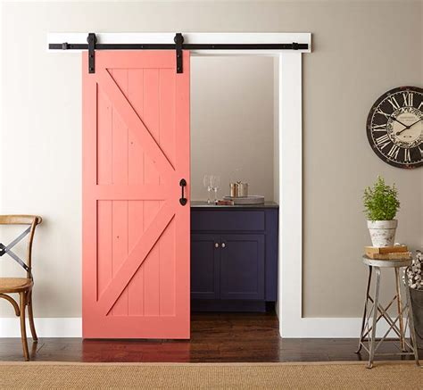 home depot interior door installation easy barn door paint and install the home depot