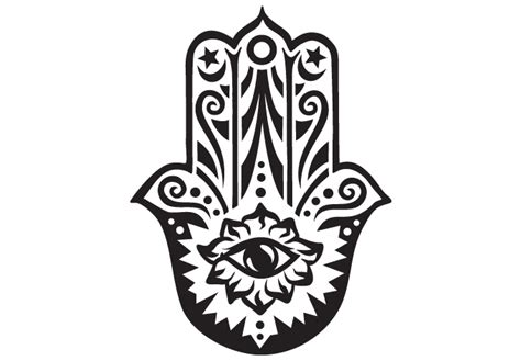 hamsa wall decal vinyl decor fatima mary miriam