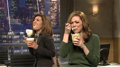 emma stone eating ice cream snl about that adele song baeble music