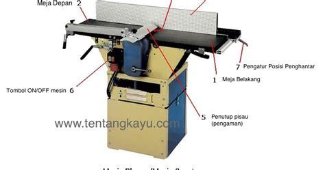 Mesin Serut Kayu Meja mengenal bagian mesin serut planer tentang kayu