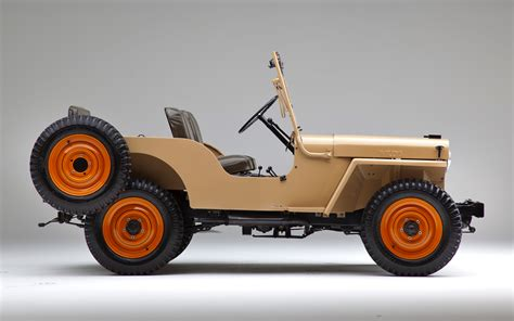 willys overland 1945 jeep cj2a classic drive motor trend