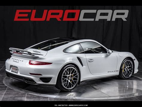 porsche 911 turbo s interior porsche 911 turbo s carbon interior metallic white pristine