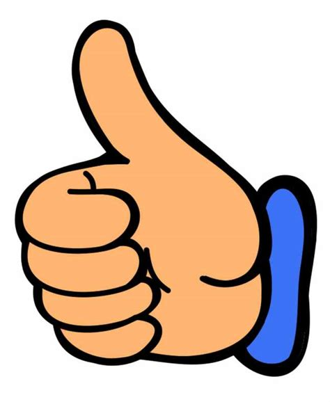 Thumbs Up And Thumbs Clipart thumbs up thumb up clip clipart 3 clipartix