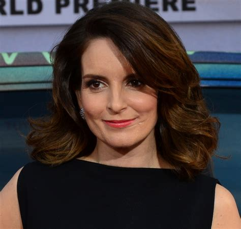 what type of hair does tina fey have l oreal signs tina fey as new face of garnier skincare