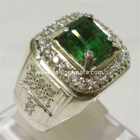 batu permata green emerald berryl zamrud 8k04 toko batu akik permata murah