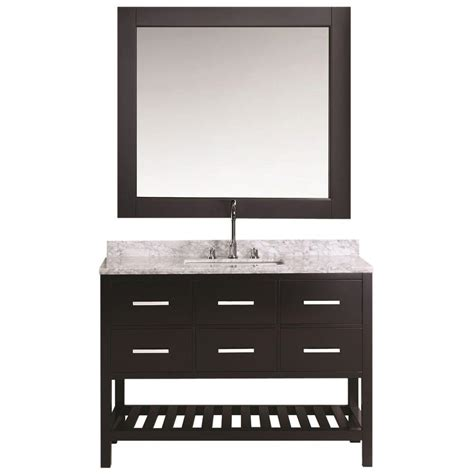 design element london 30 in w x 22 in d makeup vanity in design element london 48 in w x 22 in d vanity in