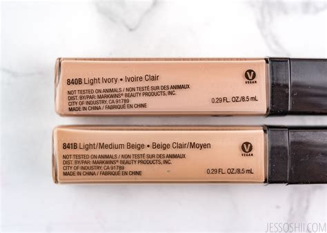 Cocoa N Photo Focus Concealer review n photo focus concealer before after swatches jessoshii