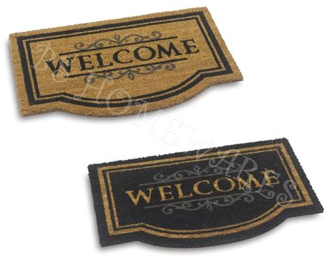 Large Coir Doormat by Large Door Mat Welcome Coir Floor Entrance Indoor Outdoor