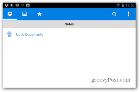 dropbox notes how to use dropbox for android as a notepad