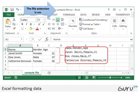 csv format microsoft excel csv vs excel xls what s the difference
