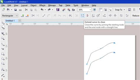 corel draw x4 join curves is there a quick way to join two curves into one shape