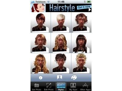 hairstyles lite app download und info hairstyle lite app f 252 r das iphone