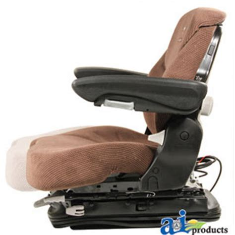 air ride tractor seat grammer air ride tractor truck seat brown matrix cloth