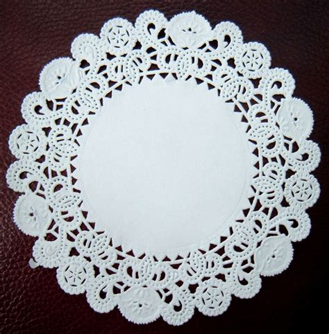 What To Make With Paper Doilies - white paper doilies pack 100 x disposable doily