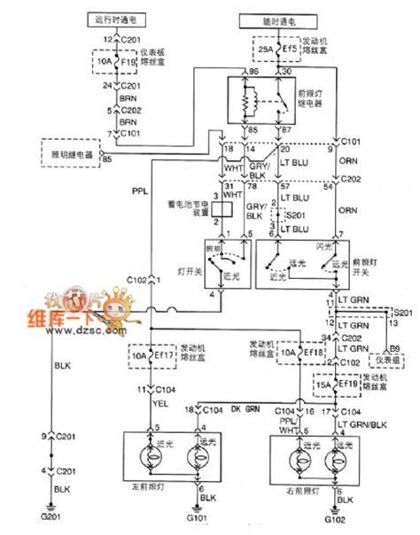 car lighting system circuit diagram wiring diagram