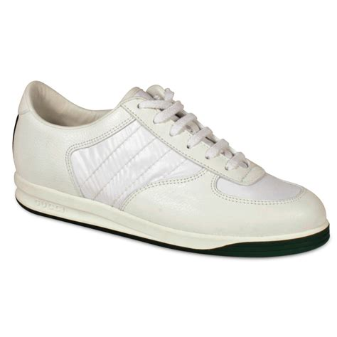 gucci s sneakers white leather designer shoes ggw1589