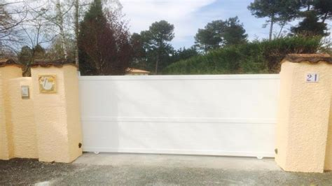 garage pret a poser portail alu pr 234 t 224 poser portails et portes d entree