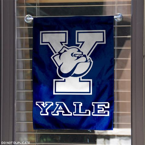 yale school colors yale garden flag yard banner ebay