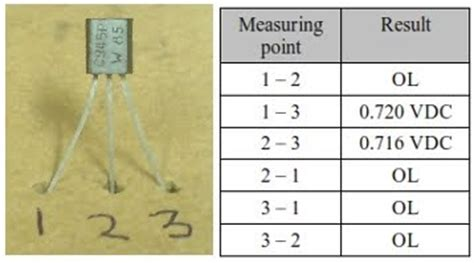 c945 transistor test how to determine terminals and type of transistor using digital multimeter electrostudy