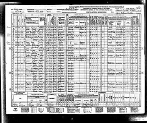 herbert hoover in the u.s. census records
