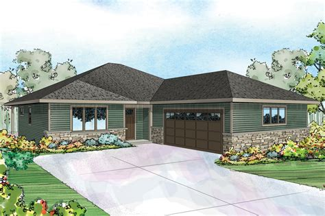 traditional ranch home plans design prairie style house