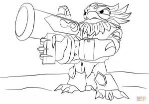 skylanders coloring pages jet vac skylanders giants jet vac coloring page free printable