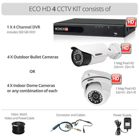 Paket Cctv 4 Channel Ahd 1 0mp Eco Nathans Set cctv surveillance equipment cameras hd cameras dvd recorders ir cameras