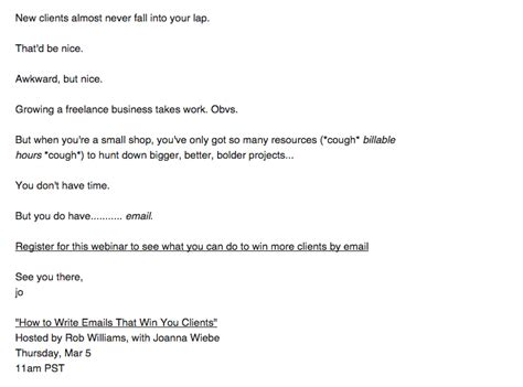 Thank You Letter For Onsite How To Create Webinar Invitations That Drive Registrations Customer Io
