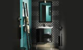 black and white blue bathroom ideas