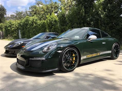 brewster green porsche brewster green porsche 911 r with 100 000 in options is