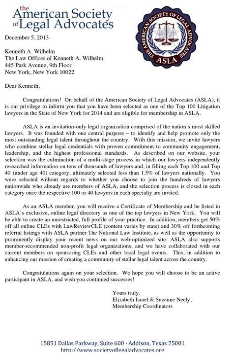 Award Letter Que Es premios bufete de abogados reconocimientos