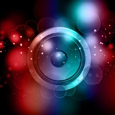 speaker background abstract speaker background vector free