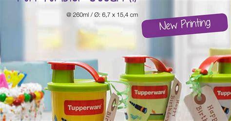 Tupperware Gelas Tutup tempat wadah gelas minum anak tupperware perlengkapan